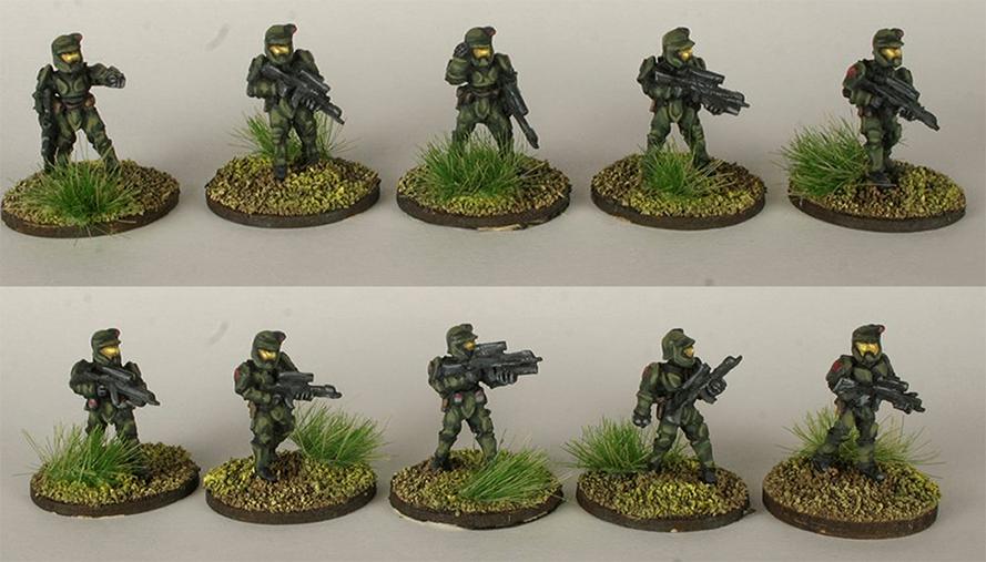 Federal Riflemen