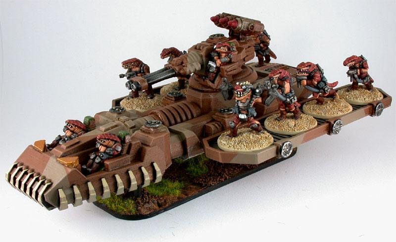 Khurasan Miniatures, Alligator Superheavy Assault Transport