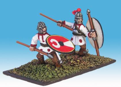 15mm Late Roman skirmishers