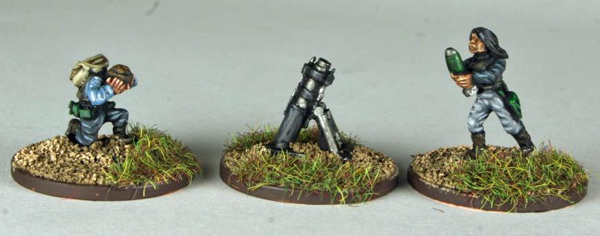 Sepulvedan Resistance Mortar Team